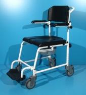 Scaun cu WC din aluminiu second hand Ortopedia/latime sezut 44 cm