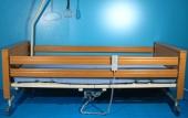 Pat electric pentru ingrijire pacienti cu trei sectiuni + SALTEA CADOU