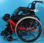 Scaun cu rotile cu verticalizare actionat manual Life Stand Vivre-Debout