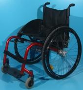 Scaun cu rotile activ din aluminiu Kuschall / latime sezut 46 cm