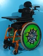 Scaun cu rotile activ copii second hand Berollka/ latime sezut 26 cm