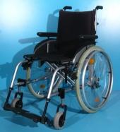 Scaun cu rotile semiactiv din aluminiu second hand Sopur / latime sezut 43 cm