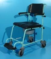 Scaun cu WC din aluminiu second hand Meyra / latime sezut 44 cm