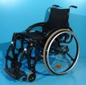 Scaun cu rotile cu verticalizare second hand actionat manual Life Stand