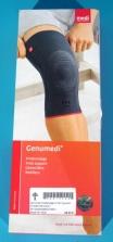 Orteza de genunchi cu inel rotulian de silicon – Genumedi - Marime I