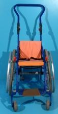 Scaun cu rotile activ copii din aluminiu Meyra / latime sezut 24 cm