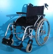 Scaun cu rotile din aluminiu second hand Drive / latime sezut 45 cm