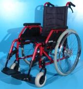 Scaun cu rotile din aluminiu second hand Meyra / latime sezut 40 cm