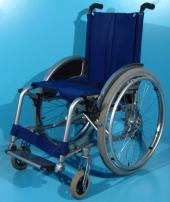 Scaun cu rotile semiactiv din aluminiu Meyra / latime sezut 42 cm
