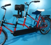 Bicicleta tandem second hand Wulfhorst Duo Combi 20