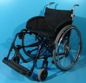 Scaun cu rotile semiactiv din aluminiu Sopur / latime sezut 50 cm