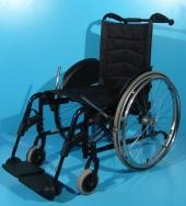 Scaun cu rotile din aluminiu Meyra / latime sezut 42 cm
