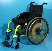 Scaun cu rotile activ din aluminiu second hand Pro Activ / latime sezut 45 cm