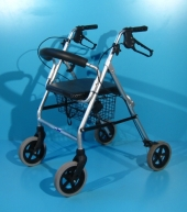 Cadru de mers cu roti din aluminiu second hand Trendmobil