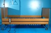 Pat electric pentru ingrijire pacienti cu trei sectiuni Ecofit