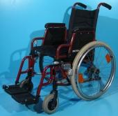 Scaun cu rotile din aluminiu second hand Meyra / latime sezut 38 cm