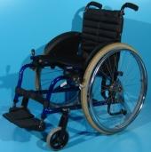 Scaun cu rotile semiactiv din aluminiu Meyra / latime sezut 39 cm