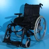 Scaun cu rotile din aluminiu second hand Invacare / latime sezut 45 cm