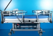 Pat electric spital pentru ingrijire pacienti cu patru sectiuni Volker