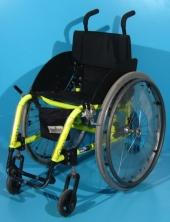 Scaun cu rotile activ copii second hand Quickie / latime sezut 35 cm