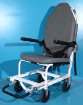Scaun cu rotile tip targa din aluminiu - second hand