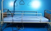 Pat electric pentru ingrijire pacienti cu doua sectiuni + SALTEA CADOU