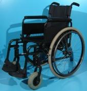 Scaun cu rotile din aluminiu second hand Action / latime sezut 37 cm