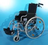 Scaun cu rotile din aluminiu second hand Trendmobil / latime sezut 42 cm