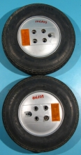 Roata plina pentru carucior electric 4.10/3.50-6 - set