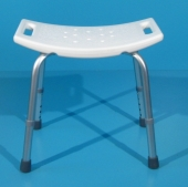 Scaun pentru baie din aluminiu second hand