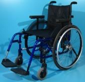 Scaun cu rotile activ pliabil din aluminiu Kuschall / latime sezut 45 cm