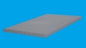 Saltea cu nucleu din spuma poliuretanica 90x200x7cm