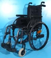 Scaun cu rotile din aluminiu second hand Otto Bock / sezut 40 cm